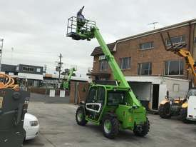 Merlo P27.6 Telehandler with Man Basket - picture7' - Click to enlarge