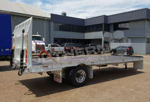 Interstate Trailers 9 Ton Custom Flatbed Trailer ATTTAG