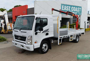 2019 Hyundai MIGHTY EX8 SUP CAB LWB Tray Crane Truck Tray Top Drop Sides