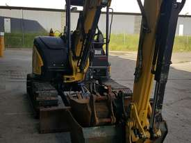 Used Yanmar VIO55-6B Open Cab Excavator, With Full Set of Buckets, Quick Hitch, Steel Tracks & Bolt  - picture0' - Click to enlarge