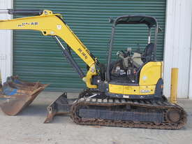 Used Yanmar VIO55-6B Open Cab Excavator, With Full Set of Buckets, Quick Hitch, Steel Tracks & Bolt  - picture6' - Click to enlarge