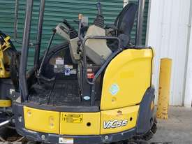 Used Yanmar VIO55-6B Open Cab Excavator, With Full Set of Buckets, Quick Hitch, Steel Tracks & Bolt  - picture7' - Click to enlarge