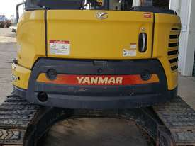 Used Yanmar VIO55-6B Open Cab Excavator, With Full Set of Buckets, Quick Hitch, Steel Tracks & Bolt  - picture8' - Click to enlarge