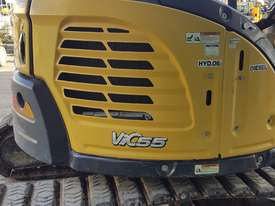 Used Yanmar VIO55-6B Open Cab Excavator, With Full Set of Buckets, Quick Hitch, Steel Tracks & Bolt  - picture9' - Click to enlarge