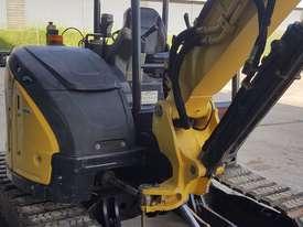 Used Yanmar VIO55-6B Open Cab Excavator, With Full Set of Buckets, Quick Hitch, Steel Tracks & Bolt  - picture10' - Click to enlarge