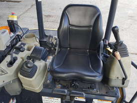 Used Yanmar VIO55-6B Open Cab Excavator, With Full Set of Buckets, Quick Hitch, Steel Tracks & Bolt  - picture12' - Click to enlarge