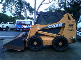 465 series 3 , 160 hrs , ex mines ,  ac cabin , solid tyres , - picture1' - Click to enlarge