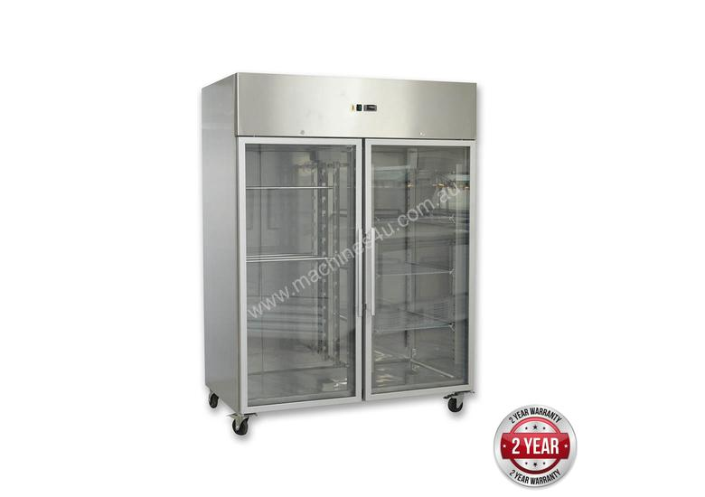 GN1200BTG GRAND ULTRA Two Glass Doors Upright Freezer 1200L