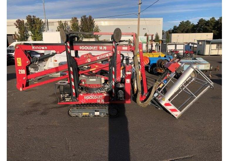 14-70 hinowa spider lift , 2011 , 782 hrs , 1 left in stock