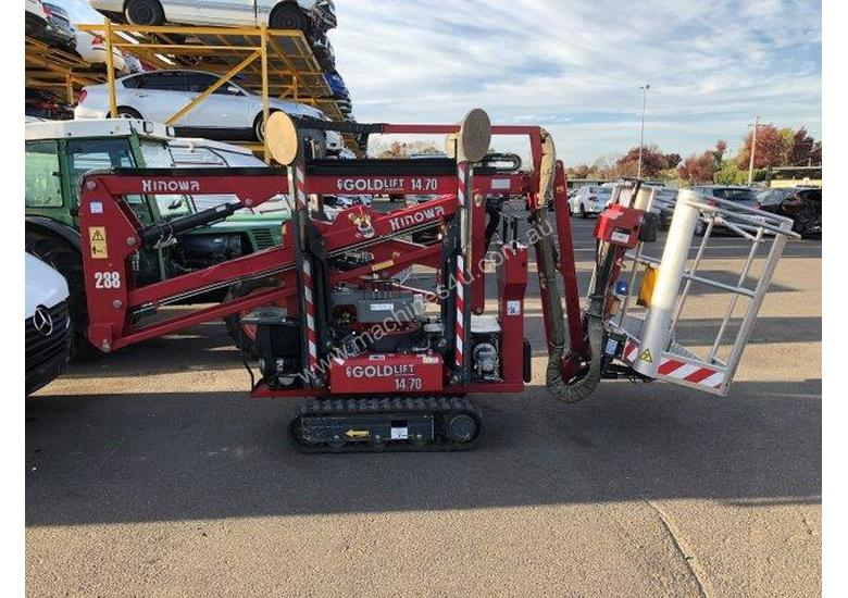14-70 hinowa spider lift , 2011 , 782 hrs , 2 available