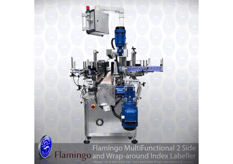 Flamingo Multi Functional 2 Side Wrap-Around Index Labeller (EFL-A600)