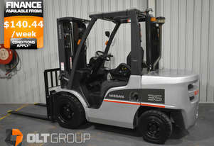 Nissan 3.5 Tonne Diesel Forklift Container Mast 2013 Model with 3849 Low Hours