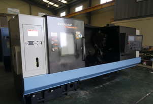 Used Doosan Puma 480L CNC Lathe. 2011 Model in very good condition.
