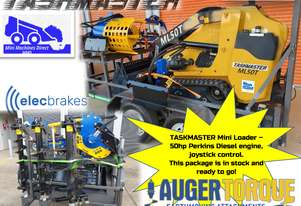 In Stock and Ready for delivery - Taskmaster ML50T Mini Loader