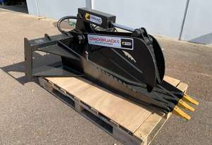 Ex-Show Skid Steer Stump Bucket Grapple