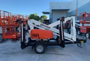 2nd Hand Snorkel MHP14AT Trailer Mounted Boom Lift
