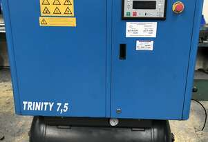 ***SOLD*** Broadbent Trinity 7.5 Fully Featured Rotary Screw Compressor