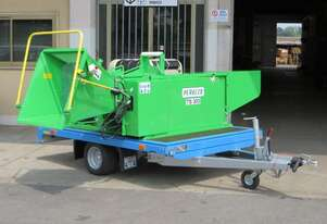 Commercial Italian Palm & Wood Chipper Mulcher
