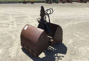 Circa 2010 Palfinger 450 G-59 900mm Hydralic Clam Shell Bucket Attachment To Suit Crane N/V