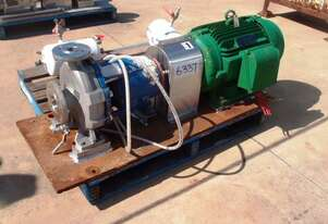 Centrifugal Pump (Stainless Steel), IN: 65mm Dia, OUT: 40mm Dia, 710 Lt/Min