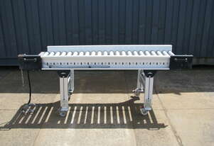 Interroll Motorised Roller Conveyor - 1.7m long