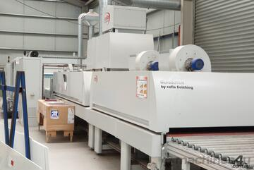 Spray Painting and drying line