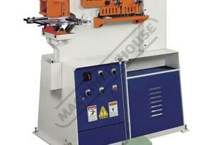 IW-45M Hydraulic Punch & Shear - 45 Tonne Single Hydraulic Cylinder System Includes 6 Sets of Round