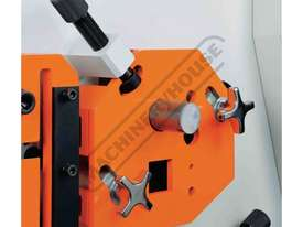 IW-45M Hydraulic Punch & Shear 45 Tonne Includes 6 Sets of Round Punches & Dies - picture5' - Click to enlarge
