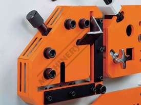IW-45M Hydraulic Punch & Shear 45 Tonne Includes 6 Sets of Round Punches & Dies - picture8' - Click to enlarge
