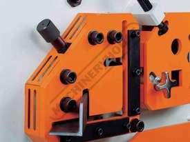 IW-45M Hydraulic Punch & Shear 45 Tonne Includes 6 Sets of Round Punches & Dies - picture7' - Click to enlarge