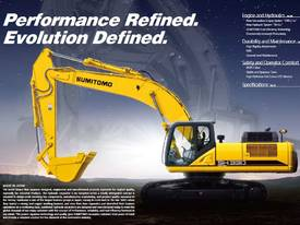Sumitomo SH350HD-6 Excavator - picture1' - Click to enlarge