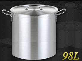 98L COMMERCIAL STAINLESS STEEL STOCK POT