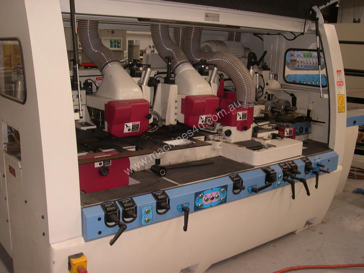 6 HEAD 4 SIDE PLANER MOULDER