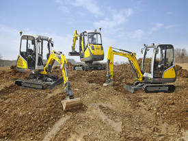Wacker Neuson ET 18VDS Excavator - Vertical Digging System - picture0' - Click to enlarge