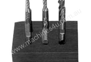TOOLTEC End Mill Set 6 Piece High Speed