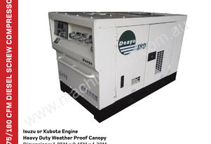 180 CFM Air Compressor with 180CFM Capacity  DENYO