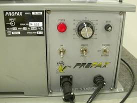 PROFAX TR2000 Turning Rolls - picture1' - Click to enlarge