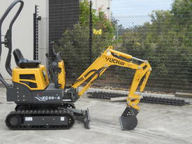 New Yuchai YC08-8 1 ton Mini Excavator - picture0' - Click to enlarge