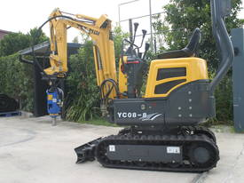 New Yuchai YC08-8 1 ton Mini Excavator - picture7' - Click to enlarge