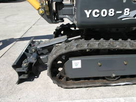 New Yuchai YC08-8 1 ton Mini Excavator - picture8' - Click to enlarge