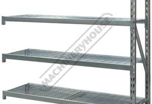 RSS-4WSA Industrial Steel Shelving Extension 364kg Shelf Load Capacity Suits RSS-4WS Racking