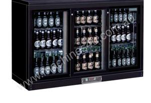 Polar Triple Sliding Door Back Bar Chiller 870mmH AUS PLUG