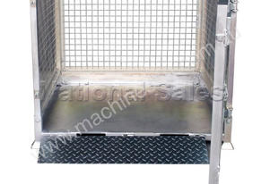 Crane Goods Cage with Ramp 1300mm