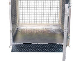 Crane Goods Cage with Ramp 1300mm - picture0' - Click to enlarge