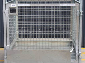 Crane Goods Cage with Ramp 1300mm - picture1' - Click to enlarge