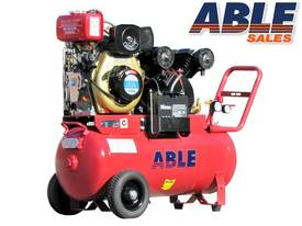 DIESEL AIR COMPRESSOR 4HP 70lt 13CFM 125PSI