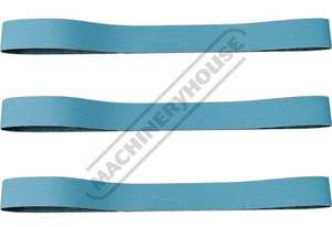 A8082 100G Zirconia Linishing Belt Pack 2000 x 75mm (79