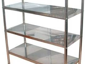 Brayco S/Steel Shelves 4-tier - picture0' - Click to enlarge