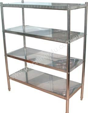 Brayco S/Steel Shelves 4-tier