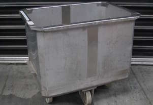 Stainless Steel Mobile Trolley Container - 210L Li